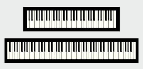 Clavier de piano 61 et 88 touches