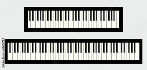 Quot Clavier De Piano 61 Et 88 Touches Quot Photo Libre De Droits