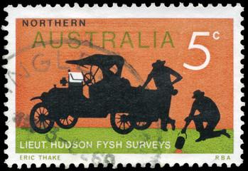 AUSTRALIA - CIRCA 1969 Old Truck