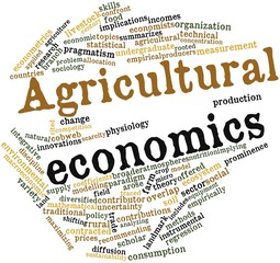 Word cloud for Agricultural economics