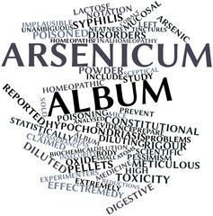 Word cloud for Arsenicum album
