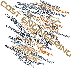 Word cloud for Cost engineering