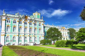 View Winter Palace  in  Saint Petersburg.