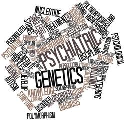 Word cloud for Psychiatric genetics