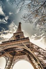 Obraz Architektura i kolory Europy, Paryż - fototapety do salonu