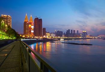 Quay at Chongqing, China