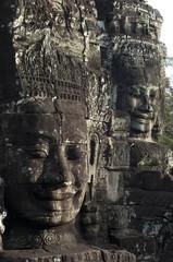 Caras del templo de Bayón. Angkor. Camboya