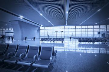 Waiting hall seats
