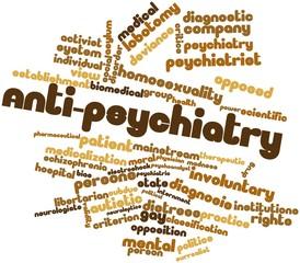Word cloud for Anti-psychiatry