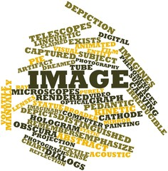 Word cloud for Image