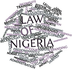 Word cloud for Law of Nigeria