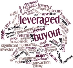 Word cloud for Leveraged buyout