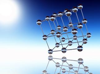 Fototapeta sphere structure