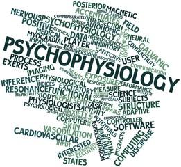 Word cloud for Psychophysiology