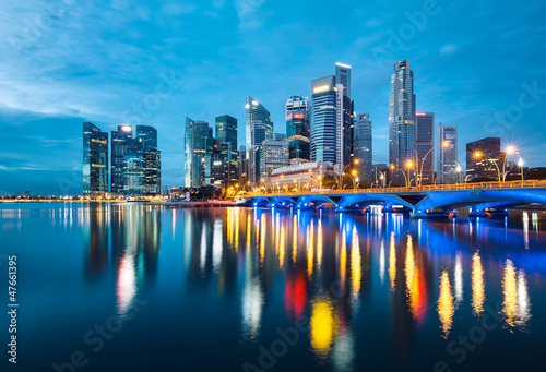 Wall mural Singapour
