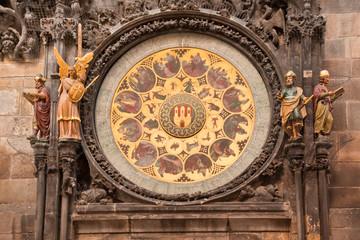 Prague Orloj Astronomical Religous Calendar Clock