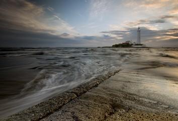 St. Mary's Lighthouse sunrise