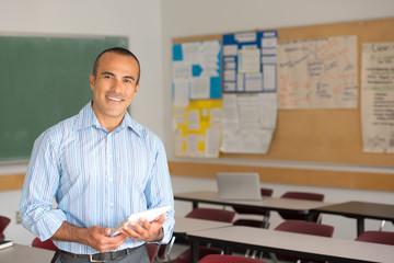Hispanic Male Teacher