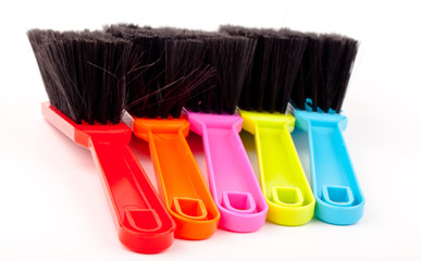 cleaning colorful brush set