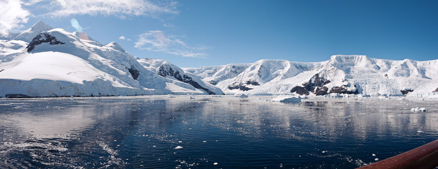 Paradise bay in Antarctica