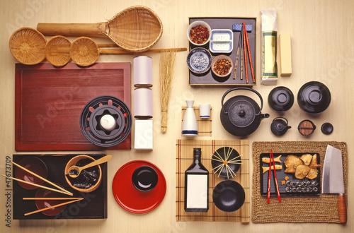 utensilios cocina japonesa fotos de archivo e im genes