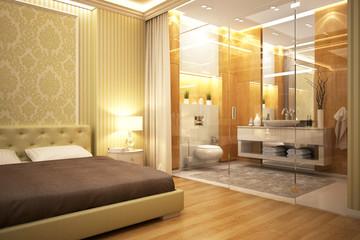 Bathroom&Bedroom
