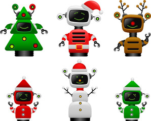 christmas robot set