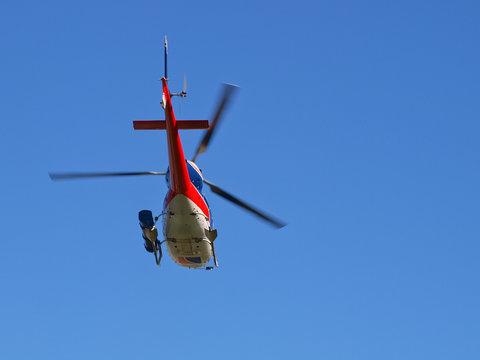 Helicopter underside