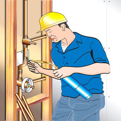 Soldering Torch Plumber