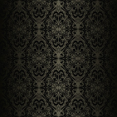Seamless charcoal wallpaper - style retro.