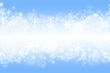 Blue winter wallaper