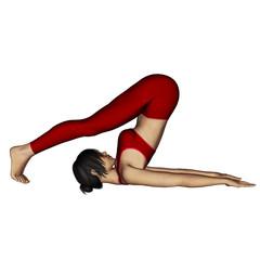 Yoga Girl 3D