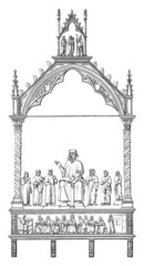 Theologian/Judge - 14th century