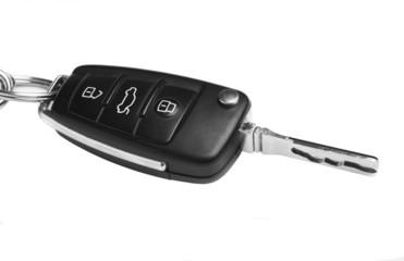 key of car isolated