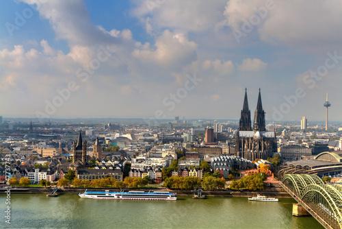 Fototapete Kölner Dom, Altstadt von Köln