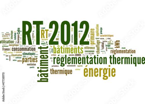Rt 2012 r glementation thermique 2012 fichier vectoriel libre de droits sur la banque d - Resistance thermique rt 2012 ...
