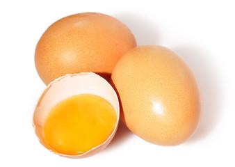 Huevo fresco.