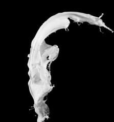 Foto op Aluminium Vissen milk splash