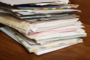 Old Mail : Letters and Enveloppe