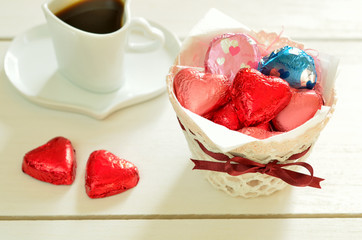 チョコレートとコーヒー