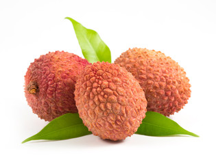 three Lychees