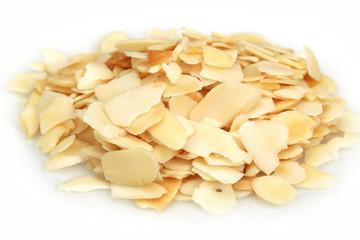 Almonds flakes