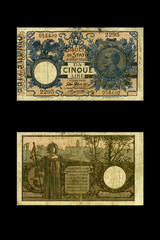 5 lire 1904