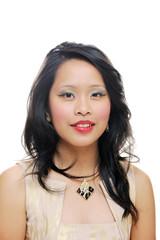 Portrait of asian