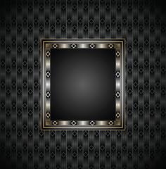 Royal vector invitation card