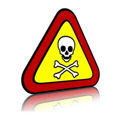 Toxic and poisonous sign.