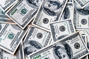 Dollars seamless background