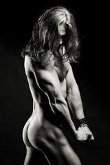 Obraz Muskularny sexowny mężczyzna - fototapety do salonu