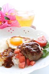 hawaiian cuisine, Locomoco rice