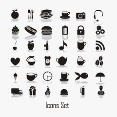 Icon silhouettes